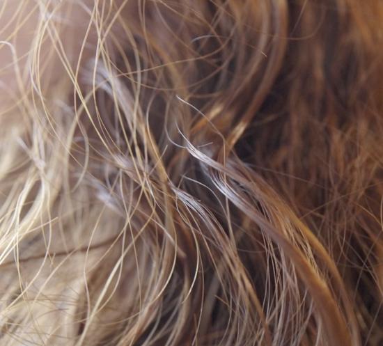 リバテープ製薬 リマーユ体験後 シャンプー髪しっとり