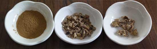 冷え性対策 生姜 種類1
