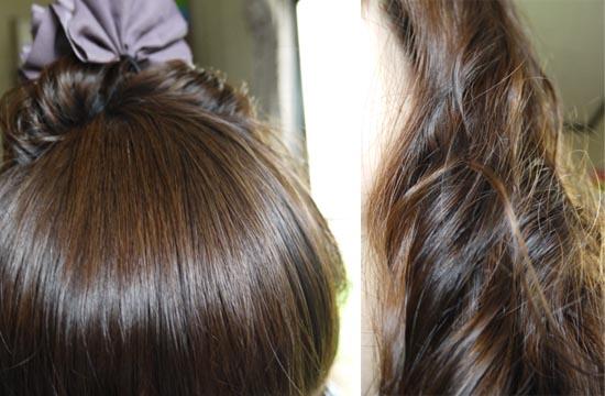 髪にタンパク質  髪サラサラ ハリツヤ実感