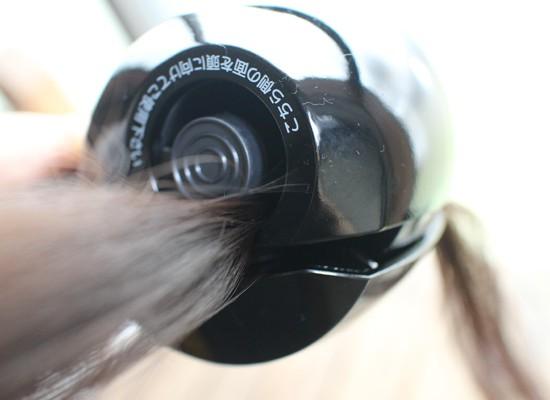ミラーカール 自動巻きエアアイロン 使用