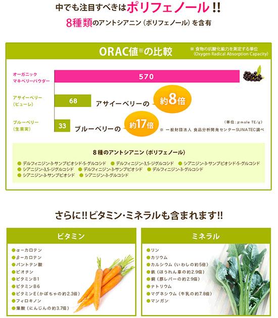 スーパーフード マキアベリー 栄養成分 口コミ