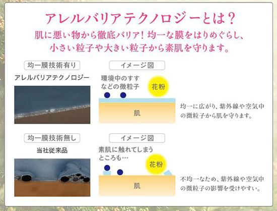 花粉症 スキンケア化粧品 おすすめ口コミ 資生堂 1