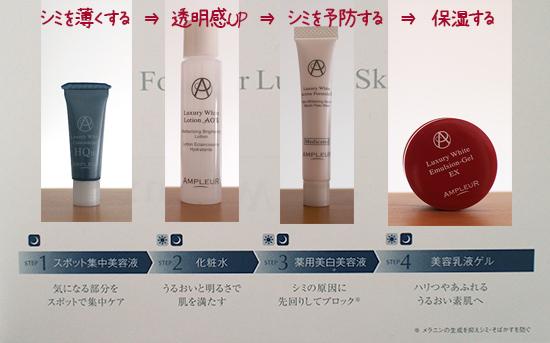 シミ 効く 化粧品 おすすめスキンケア 口コミ1