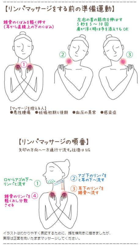 首のしわ 解消マッサージ方法 NHKあさイチ