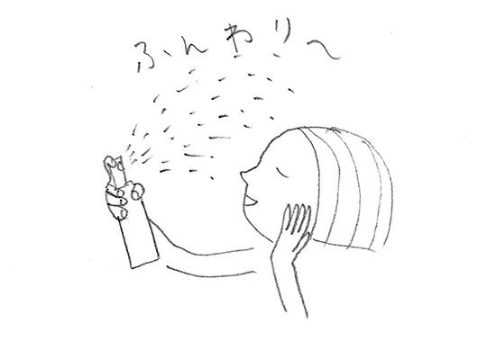 化粧崩れしないファンデーション 方法 NHKあさイチ 3